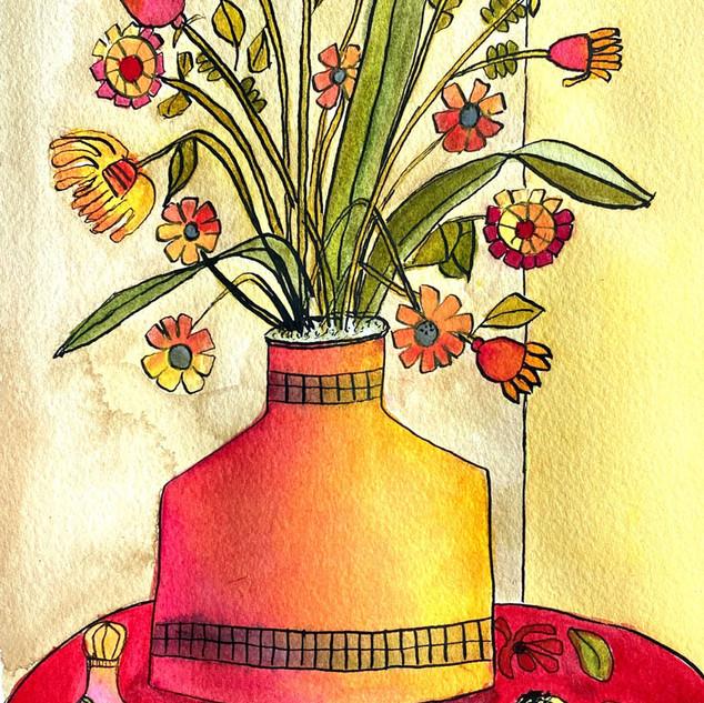 Vase with Dog Box (2020)