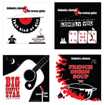 kimberley clemens & the reverse gates cd artwork