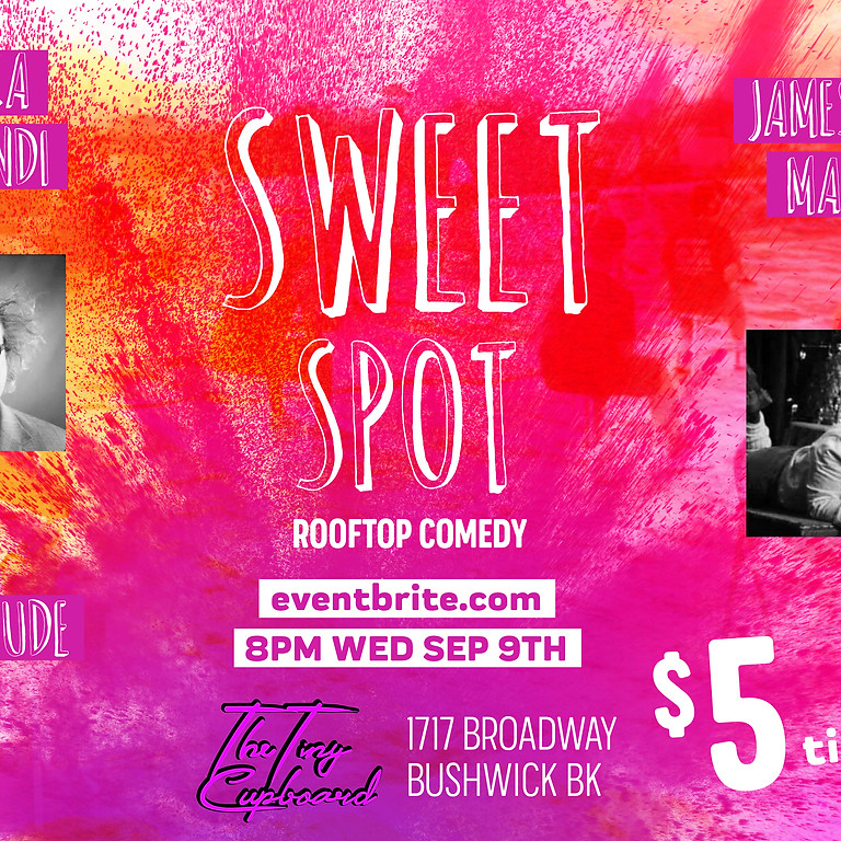 Sweet Spot Rooftop Comedy