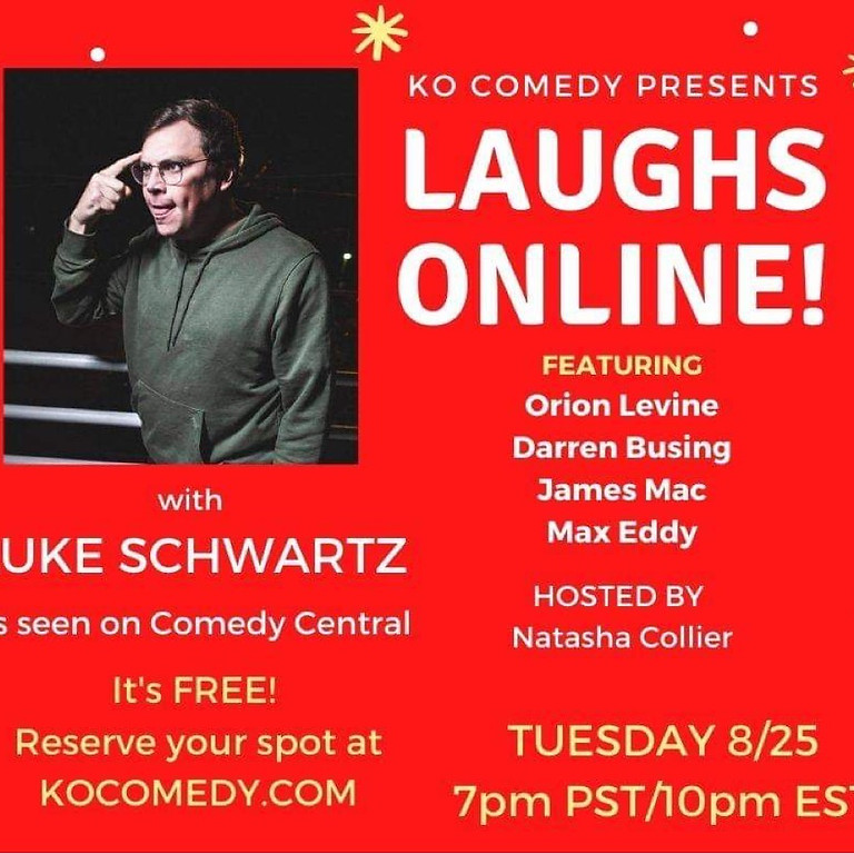 KO Comedy (Virtual)
