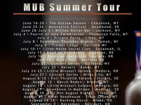 MUB Summer Tour - 2021
