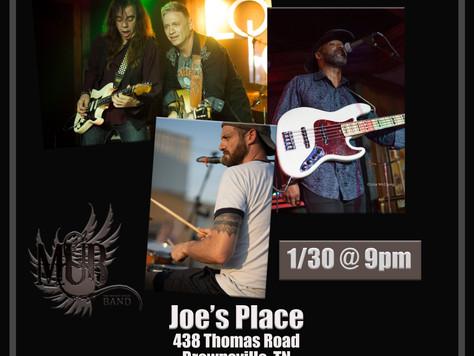 We're Back at Joe's Place