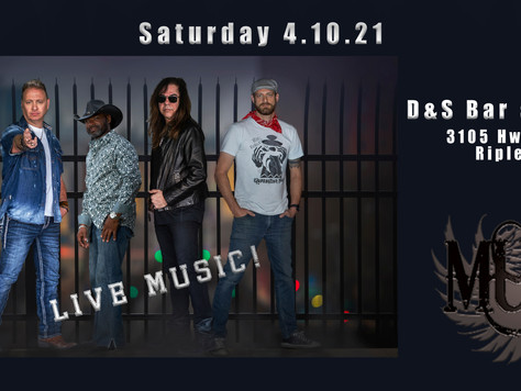 D&S Bar and Grill on April 10th