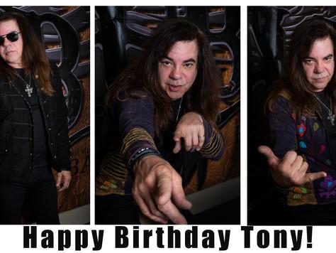 Happy Birthday Tony Rossi