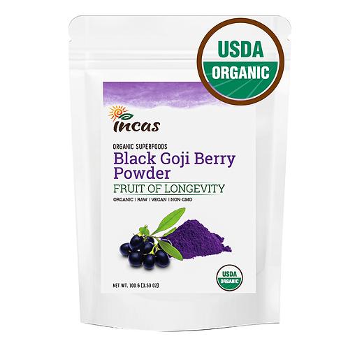 Organic Black Goji Berry Powder 100G