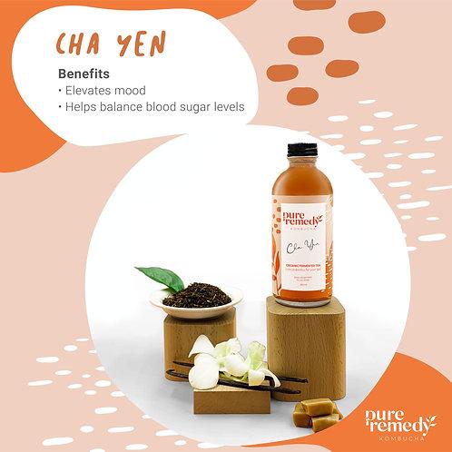 คอมบูชา Cha Yen Kombucha 260ML /Pure Remedy