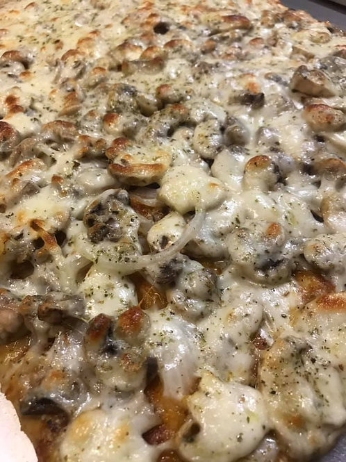 Mushroom Cheese Pizza / CONKEY'S