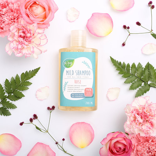 Shampoo Rose 200ML / Hug แชมพู กุหลาบ