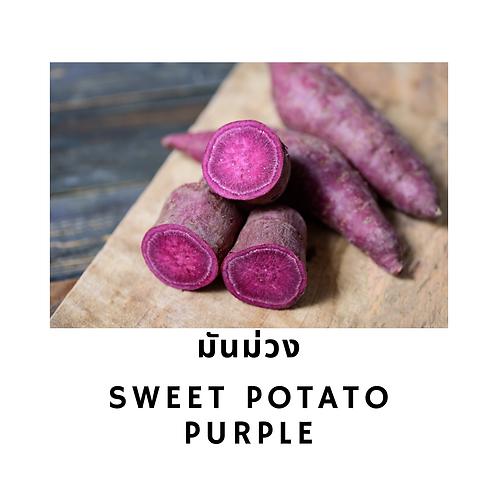 มันม่วง 500G Sweet Potato Purple