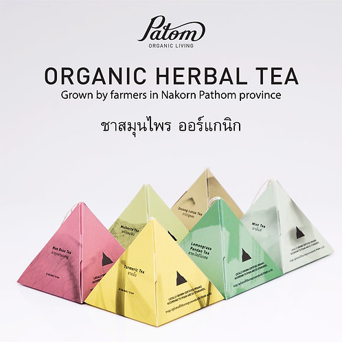 ชา Mon Rose Tea/ Patom Organic