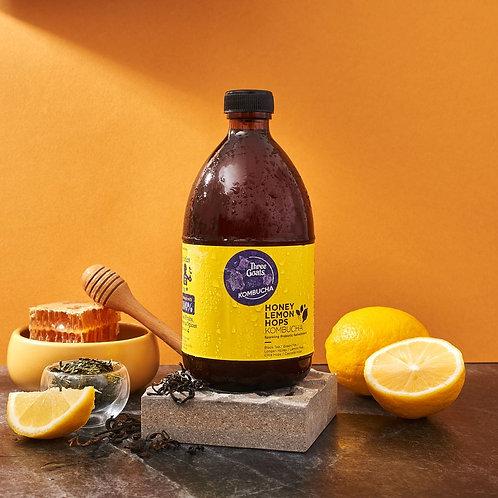 Honey Hops Kombucha 500ML / 3goats คอมบูชา