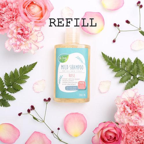 แชมพู กุหลาบแบบเติม Shampoo Rose Refill 50G / Hug