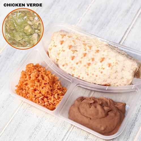 Burrito Chicken Verde / Lamonita เบอริโต้ ไก่ซอสเขียว
