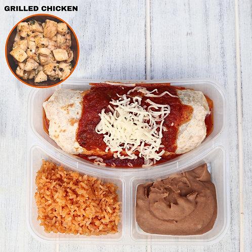 เบอริโต้ชีส ไก่ย่าง Wet Burrito Grilled chicken/ Lamonita