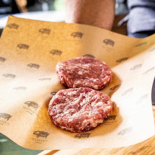 Pork Burgers 4*125G เบอร์เกอร์หมู