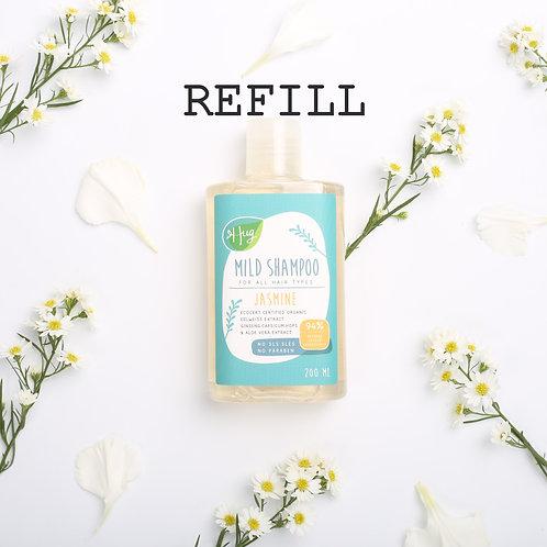 แชมพู มะลิ แบบเติม Shampoo Jasmine refill 50G / Hug