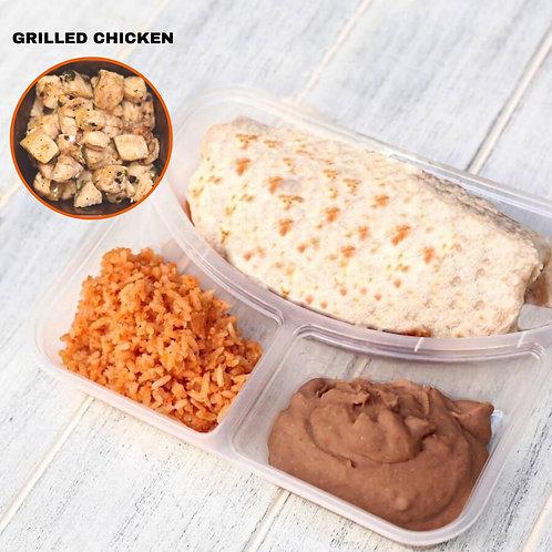 Burrito Grilled Chicken / Lamonita เบอริโต้ ไก่ย่าง
