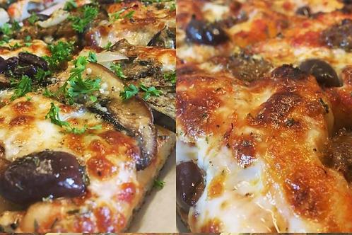 Bacon Cheese Pizza / CONKEY'S