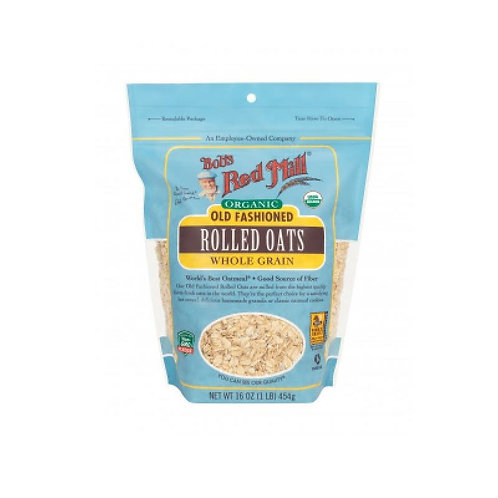Organic Old Fashioned Rolled Oats Whole Grain