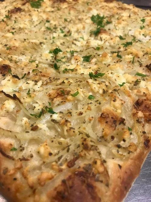 Onion & Feta Cheese Foccacia/ CONKEY'S