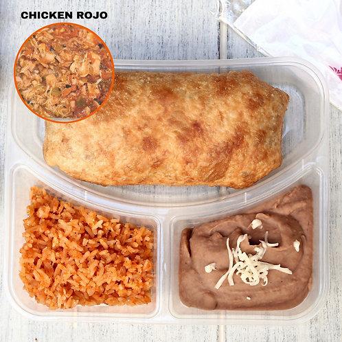 Chimichanga Chicken Rojo/ Lamonita ชิมิชังกา ไก่ซอสแดง