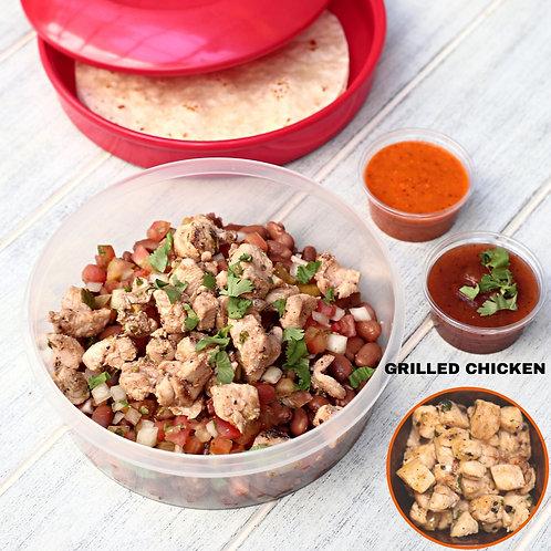 ทาโก้ ไก่ย่าง Taco Bowl Grilled Chicken  / Lamonita