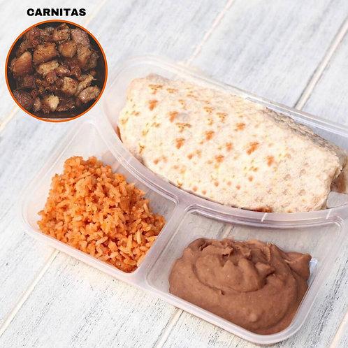 Burrito Carnitas / Lamonita เบอริโต้ หมูอบ