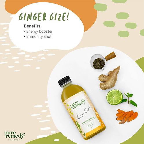 คอมบูชา Ginger Gize Kombucha 260ML /Pure Remedy