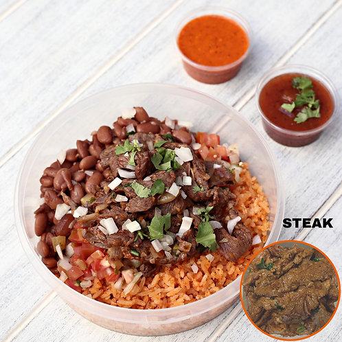 เบอริโต้ เนื้อไม้มีแป้ง Naked Burrito Steak  / Lamonita