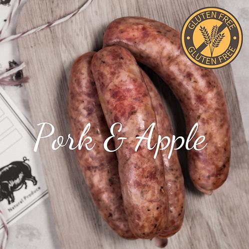 GF ไส้กรอกหมูผสมแอปเปิ้ล 500G Pork & Apple (Gluten Free)