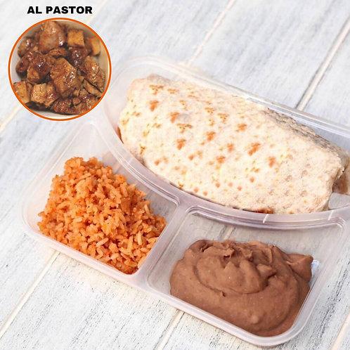 Burrito Alpastor / Lamonita เบอริโต้ หมูหมักพริกย่าง