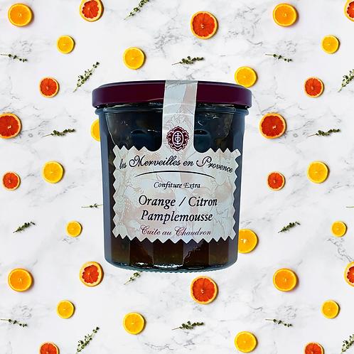 แยม ส้ม มะนาว เกรพฟรุต / Orange Lemon Grapefruit Jam