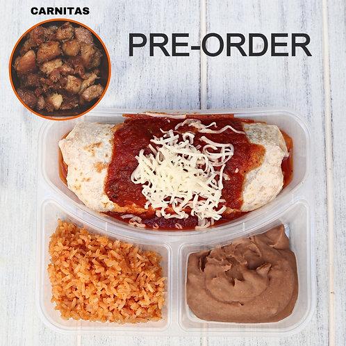 Wet Burrito Carnitas/ Lamonita เบอริโต้ชีส หมูอบ