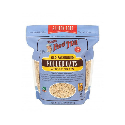 Gluten Free Old Fashioned Rolled Oats 907G/ Bob's