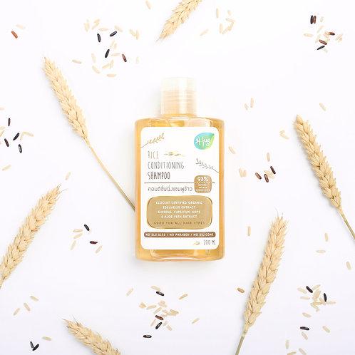 Shampoo Rice 200G / Hug แชมพู ข้าว