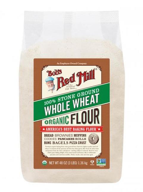 Organic Wholewheat Flour 1.36kg