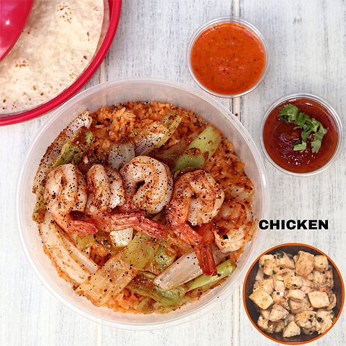 Fajita Bowl Chicken  / Lamonita ฟาฮิต้า ไก่