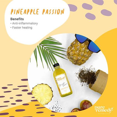 คอมบูชา Pineapple Passion Kombucha 260ML /Pure Remedy