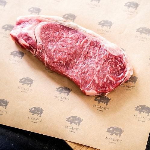 เซอร์ลอยน์ เนื้อไทยแองกัส 250G Thai Angus Striploin steak.