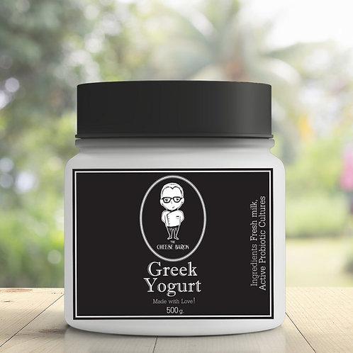 Greek Yogurt 500G  / The Cheese Baron กรีกโยเกิร์ต