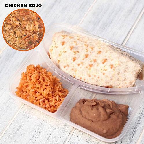 เบอริโต้ ไก่แดง Burrito Chicken Rojo / Lamonita