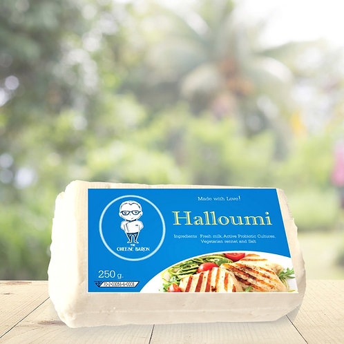 Halloumi 250G/ The Cheese Baron ฮาลูมี่