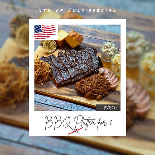 BBQ Platter for 2