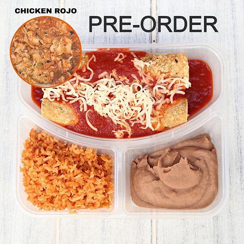 Enchiladas Chicken Rojo/ Lamonita เอนชิลาดา ไก่ซอสแดง