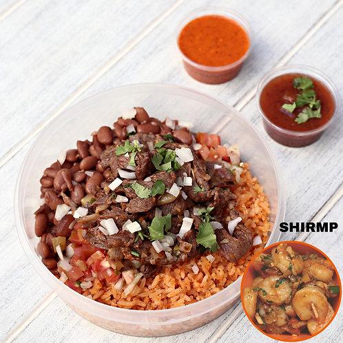 เบอริโต้ กุ้ง ไม่มีแป้ง Naked Burrito Shrimp  / Lamonita