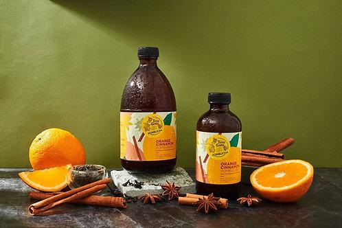Orange Cinnamon Kombucha 240ML/ 3 Goats คอมบูชา