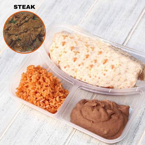 Burrito Steak / Lamonita เบอริโต้ สเต็กเนื้อ