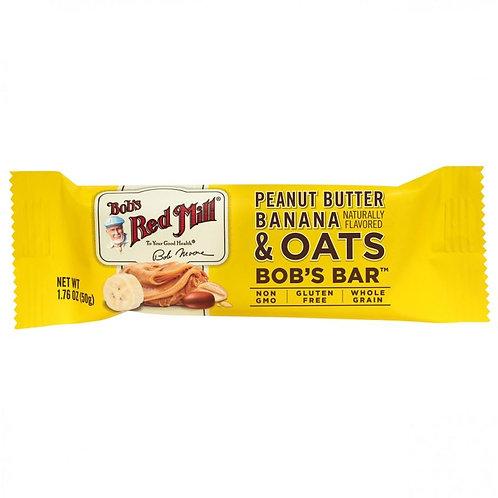 Peanut Butter Banana & Oats Bar 50G/Bob's