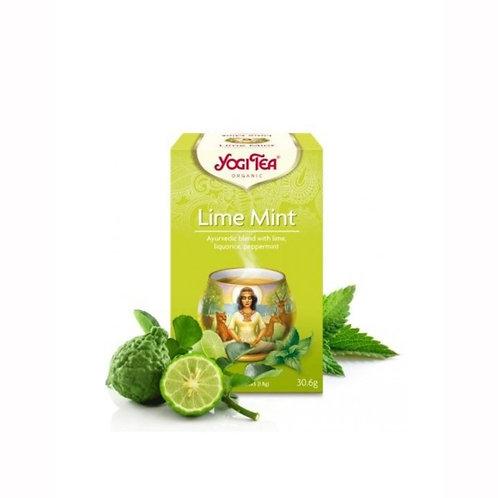 ชา มินต์ มะนาวOrganic Lime Mint/ Yogi Tea