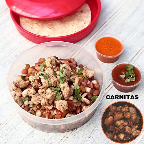 Taco Bowl Carnitas  / Lamonita ทาโก้ หมูอบ